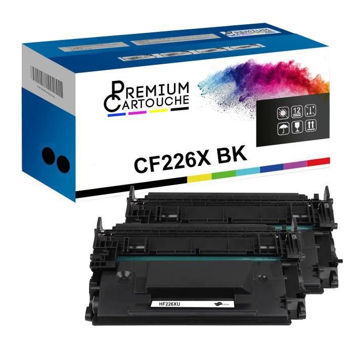 Toner CF226X 052H Noir x2 Compatible pour HP LaserJet Pro M 402 Series HP LaserJet Pro M 402 d HP LaserJet Pro M 402 dn HP LaserJet