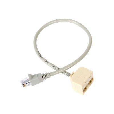 Startech Adaptateur Rj45 Cat5 / Cat 5e Répartiteur Ethernet 2 vers 1