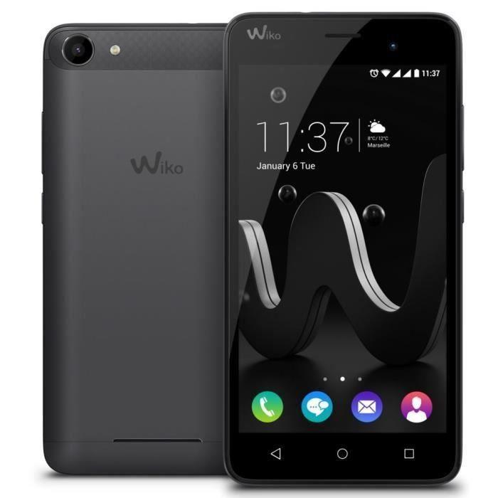 Wiko Jerry Smartphone débloqué H+ Gris sidéral/Noir