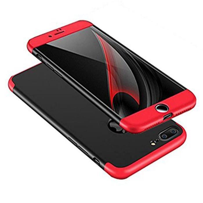 coque iphone 7 plus 3 en 1 ultra thin antichoc har