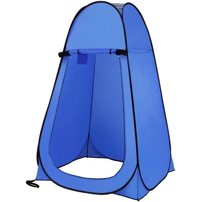 Pop-up Tente Portable et Imperm/éable Instantan/ée pour Camping en Plein air Toilette Dressing Douche pour Utilisation Ext/érieure Tente de Pliage Mobile Unique Portable