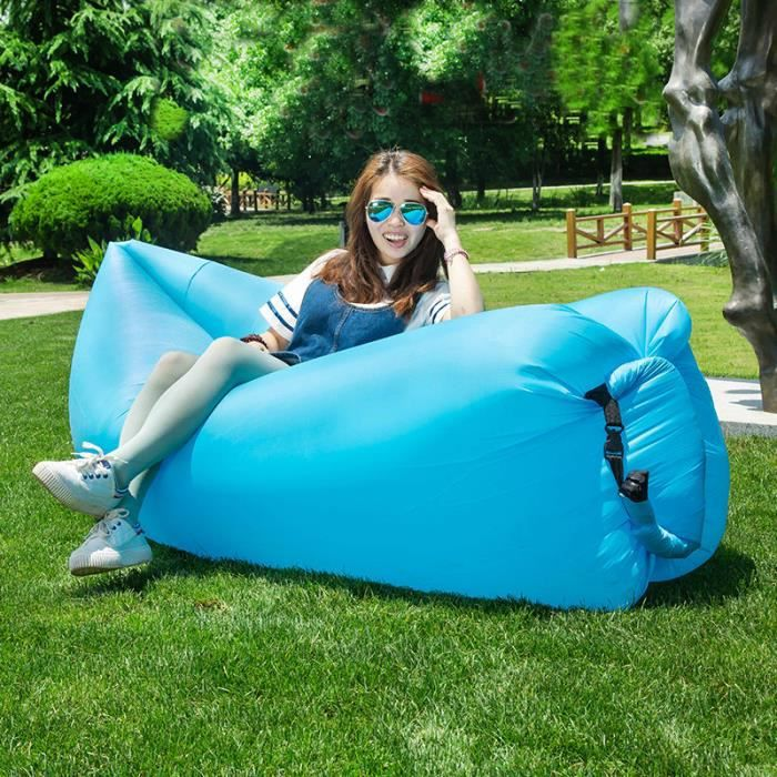 Sofa gonflable air canap sofa pour camping pis prix - Sofa gonflable decathlon ...