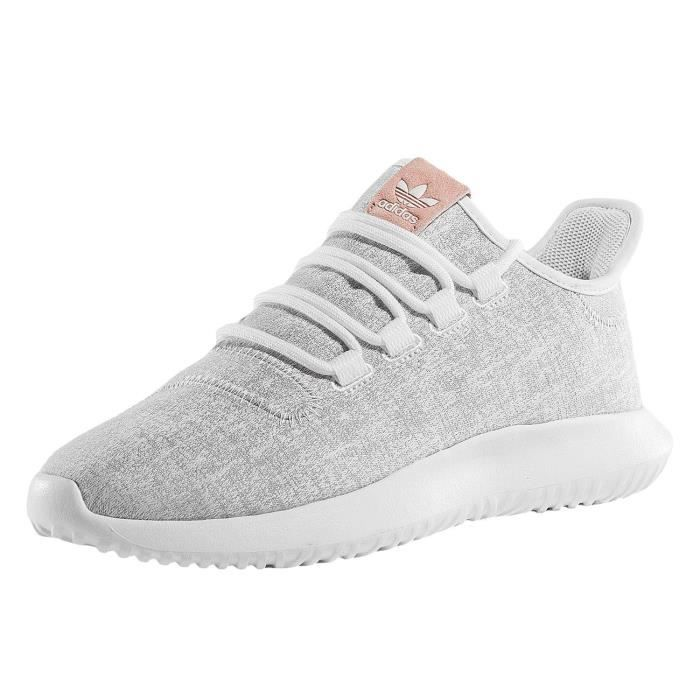 adidas femme chaussures baskets tubular shadow w blanc blanc achat vente basket cdiscount. Black Bedroom Furniture Sets. Home Design Ideas
