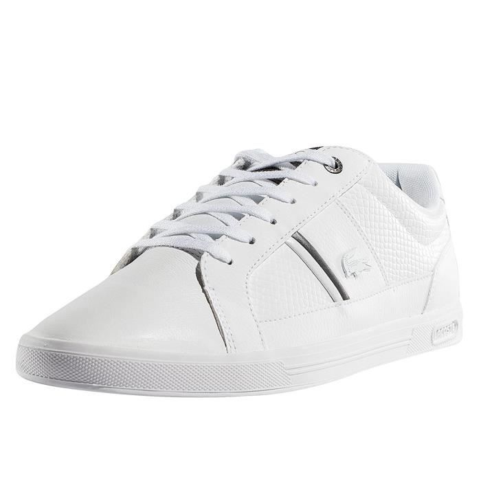 b8241061a5 Lacoste Homme Chaussures / Baskets Europa 417 SPM Blanc - Achat ...