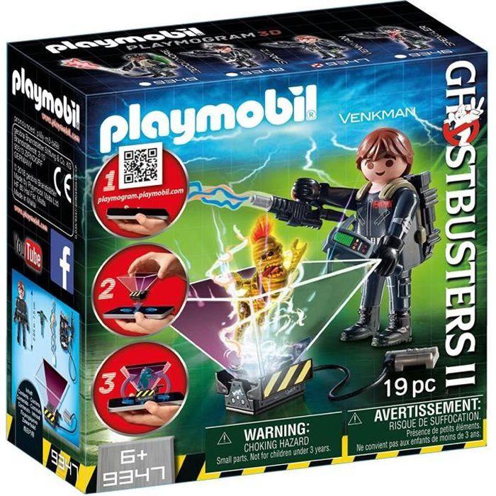 UNIVERS MINIATURE PLAYMOBIL 9347 - Ghostbusters - Playmogram 3D - Pe