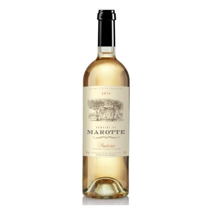 VIN BLANC Domaine de Marotte 2016 Sauternes - Vin blanc de B