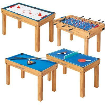 Table de jeux 4 en 1 achat vente billard cdiscount for Table 4 en 1