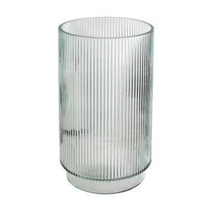 VASE - SOLIFLORE Atmosphera - Vase en verre la dolce vita H25 cm Tr