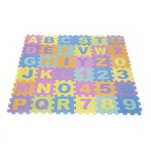 TAPIS PUZZLE Puzzle Tapis De Sol Numéro Abc Alphabet Étude Enfa