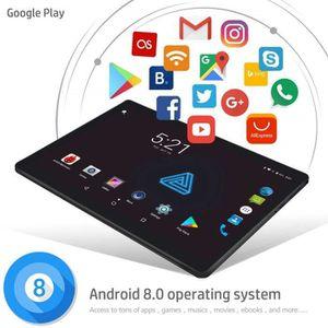 TABLETTE TACTILE Tablette Android 8.0 de 10 Pouces, mémoire de 6 Go