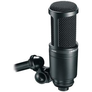 MICROPHONE - ACCESSOIRE Audio-Technica Micro Statique AT2020