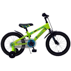 VÉLO ENFANT Vélo Enfant Garçon 16 Pouce avec Roues de Stabilis