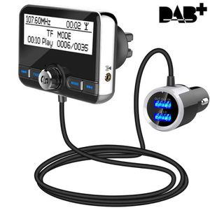 TRANSMETTEUR FM Dab Transmetteur FM Bluetooth Voiture,Transmetteur
