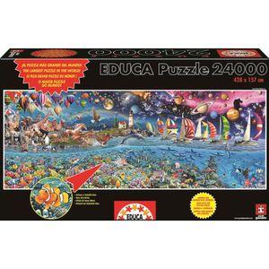PUZZLE EDUCA Puzzle La Vie 24000 Pièces