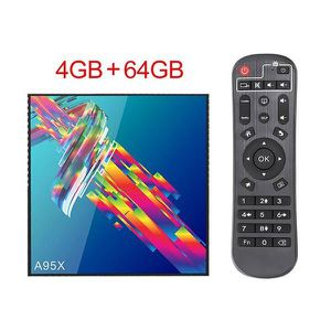 BOX MULTIMEDIA TV Box ArtDemo®  T101 Android 9  4GB 64GB USB3.0 2