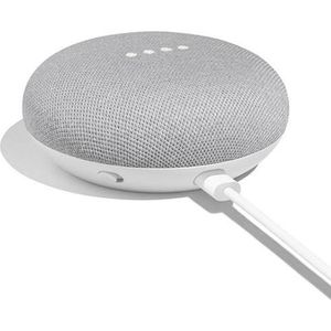 ASSISTANT VOCAL Mini haut-parleur Google Home - Craie