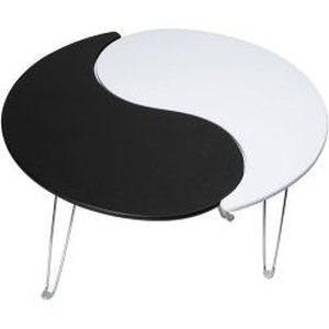 Table basse ying yang achat vente table basse table for Meuble ying yang