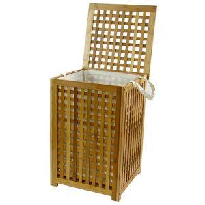 PANIER A LINGE Coffre à linge Bambou