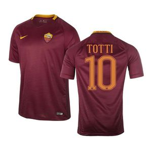 Maillot AS Roma Domicile Totti 2016 17 - Prix pas cher - Cdiscount 43457eaf140