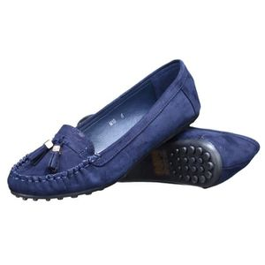 MOCASSIN Mocassin femme Lily shoes M10 Marine
