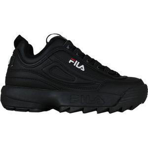 BASKET FILA DISRUPTOR II BLACK-BLACK