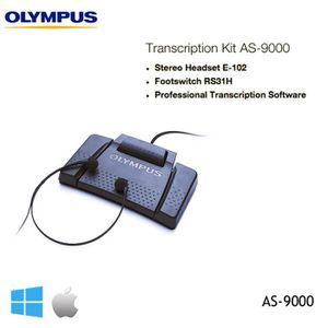 KIT DE TRANSCRIPTION OLYMPUS AS-9000 TRANSCRIPTION KIT AS9000