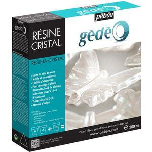RÉSINE CRÉATIVE PEBEO Kit Résine Cristal 300 ml