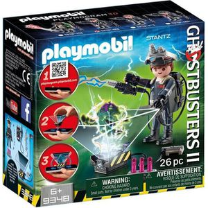 UNIVERS MINIATURE PLAYMOBIL 9348 - Ghostbuster - Playmogram 3D - Ray