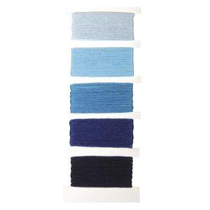 24 couleurs bleues au choix bracelets brésiliens Canevas 1 fil RETORS DMC 89