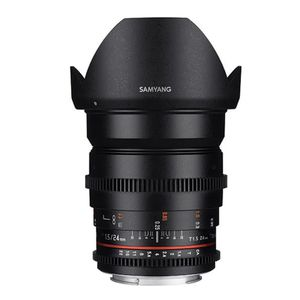 OBJECTIF Samyang 24mm T1.5 ED AS UMC VDSLR (Sony E-Mount) o