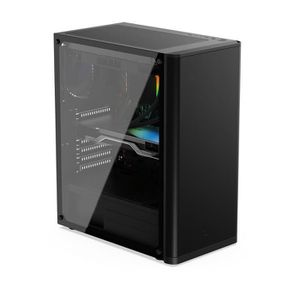 UNITÉ CENTRALE  PC Gaming, AMD Ryzen 5, RX 550, 240Go SSD, 1To HDD