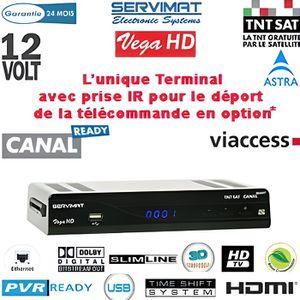 RÉCEPTEUR - DÉCODEUR   SERVIMAT VEGA HD PVR : Récepteur numérique TNTSAT