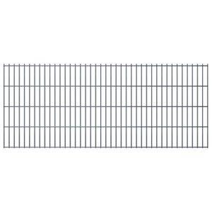 CLÔTURE - GRILLAGE vidaXL Panneaux de clôture 2D pour jardin 2008x830