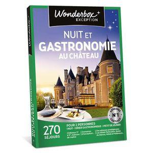 COFFRET SÉJOUR Wonderbox - Coffret cadeau en couple - NUIT ET GAS