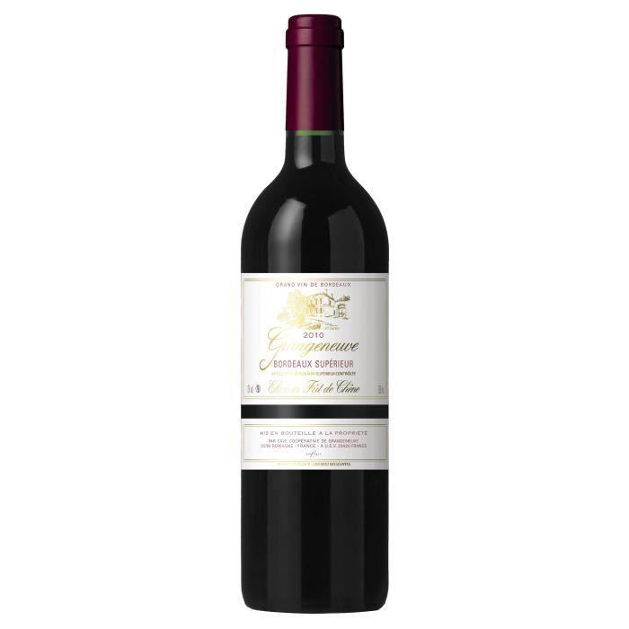 GRANGENEUVE AOC Bordeaux Supérieur Rouge