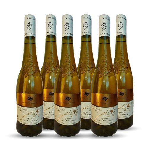 6 bouteilles - Vin blanc - Tranquille - CHATEAU de la GENAISERIE Saveur Coteaux du Layon Blanc 2013 6x75cl