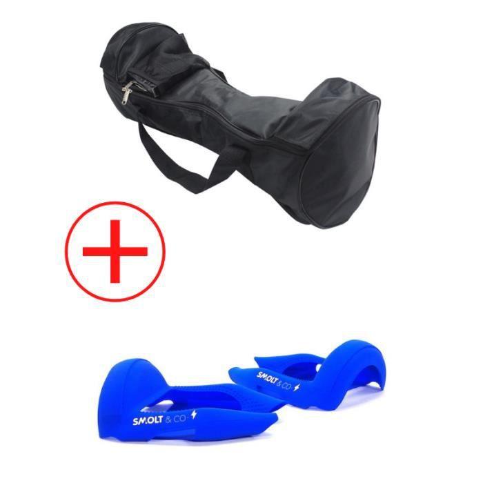 Pack Sac & Coque de Protection Bleu pour Hoverboard 10 Pouces