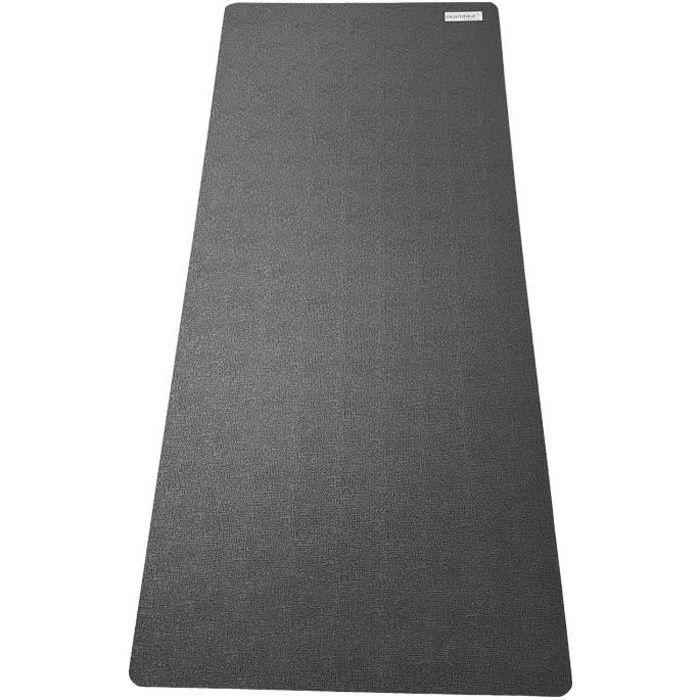skandika - Tapis de protection sol pour appareils fitness - 90 x 200 cm - noir