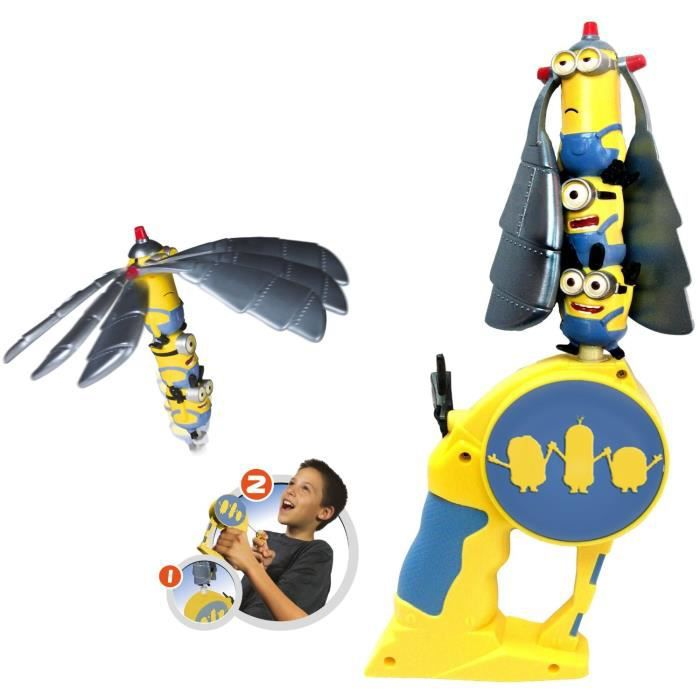 LES MINIONS Flying Heroes