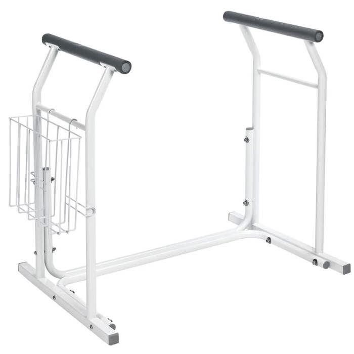 RIDDER Barre d'appui mobile pour toilettes Blanc 100 kg A0110101