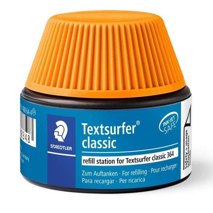Textsurfer® classic 488 64 - Flacon recharge 30 ml pour surligneur 364 orange
