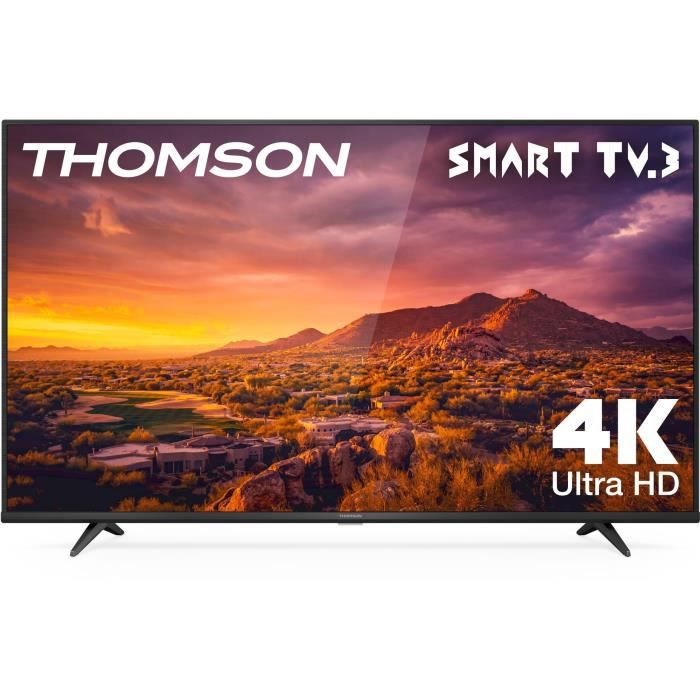 THOMSON 43UG6320 - TV LED UHD 4K - 43'' (109cm) - HDR - Smart TV - Dolby Digital Plus - 2 x HDMI - 1 x USB