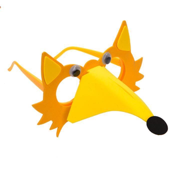 TRIXES Fox orange Arts and Crafts Kit mousse Lunettes