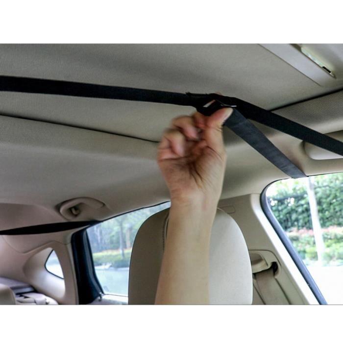 2 pièces sac de voyage étanche Durable Portable Oxford tissu support de toit de voiture BARRES DE TOIT - ADAPTATEUR BARRE DE TOIT