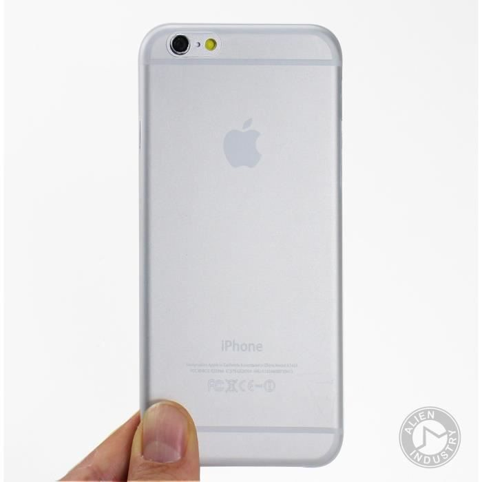 coque transparente rigide iphone 6 plus