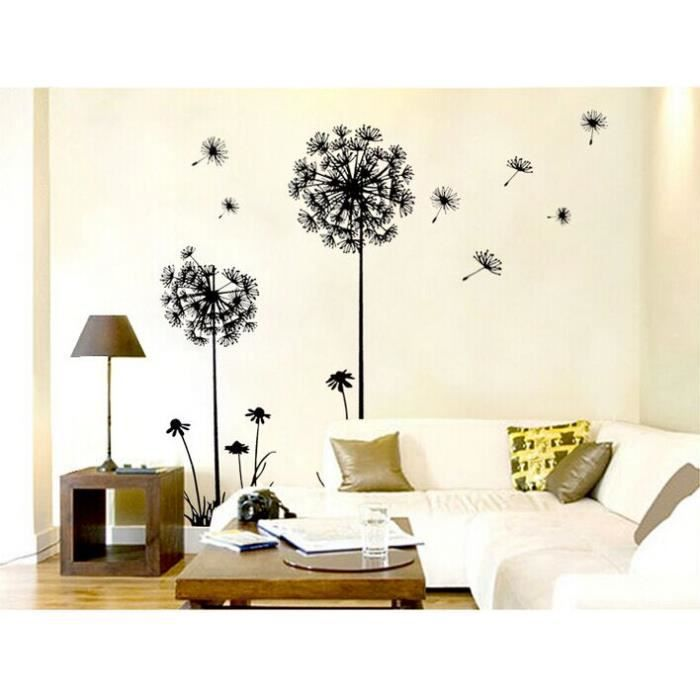 deco murale salon stickers. Black Bedroom Furniture Sets. Home Design Ideas