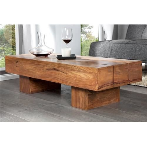 Table basse design makasso bois achat vente table - Table basse design bois ...