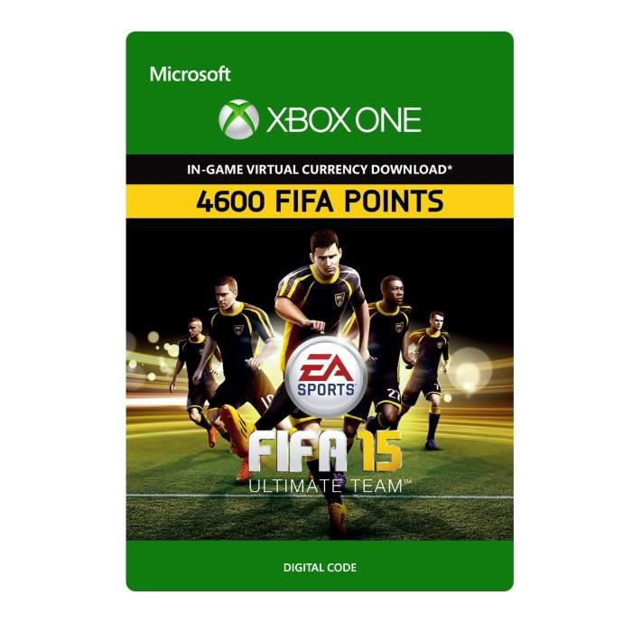 DLC FIFA 15 Ultimate Team: 4600 Points pour Xbox One - Achat / Vente  extension - code FIFA15 Xbox DLC - Cdiscount