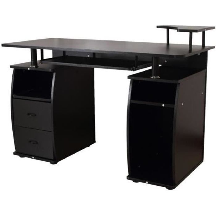 bureau pour ordinateur table meuble pc achat vente meuble informatique bureau pour. Black Bedroom Furniture Sets. Home Design Ideas