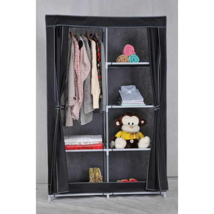 armoire tissu. Black Bedroom Furniture Sets. Home Design Ideas